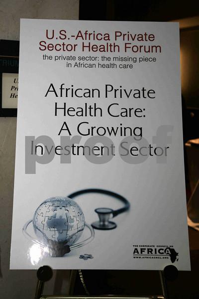 U.S.-Africa Private Sector Health Forum
