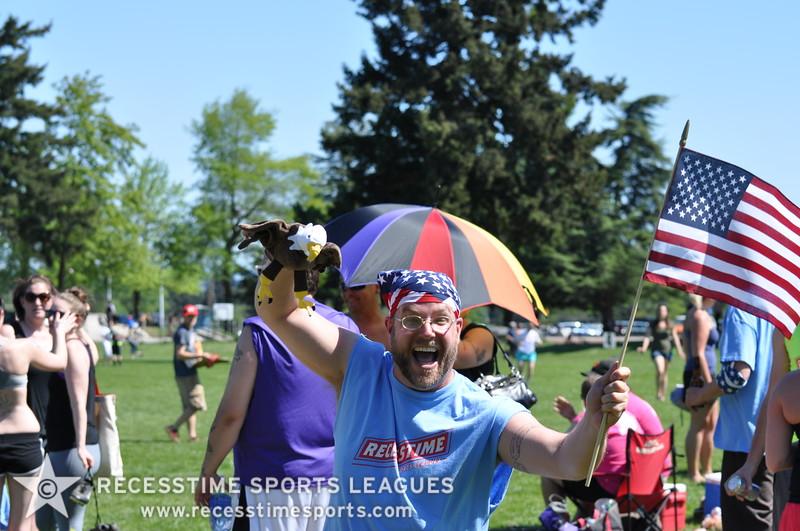 Recesstime Sports Leagues Portland Kickball Spring 2013 Dodgeball Bowling Ping Pong Mushball - 196