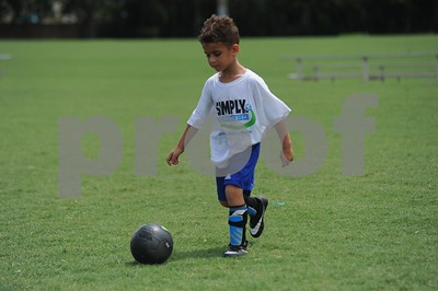 Simply Soccer Summer Camp 2017 Week 1