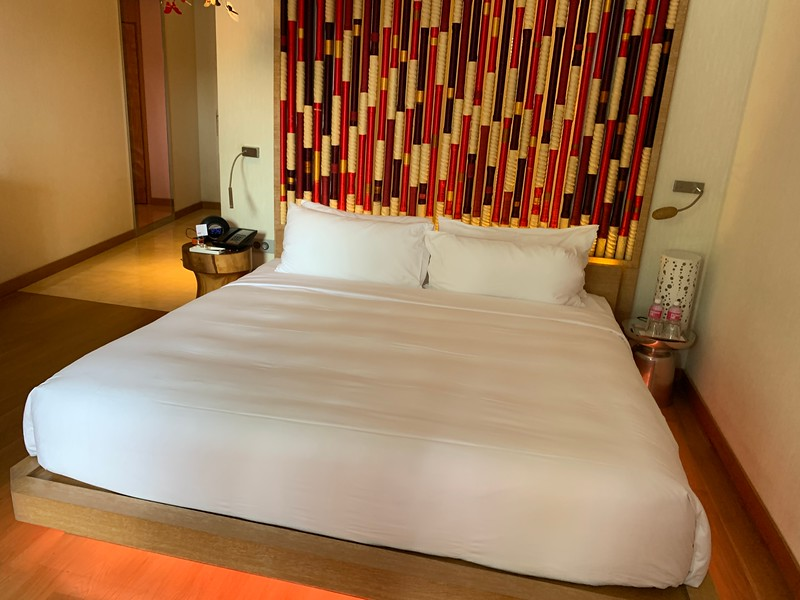 W Sentosa Singapore Away Room King Size Bed