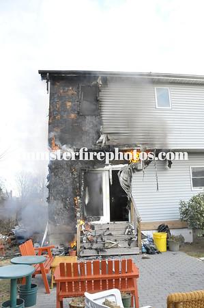 BETHPAGE FD LEXINGTON AVE HOUSE FIRE 1-4-12