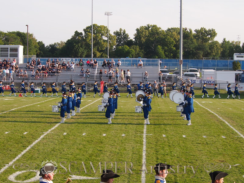 August 31, 2018, Home game vs. Tiffin