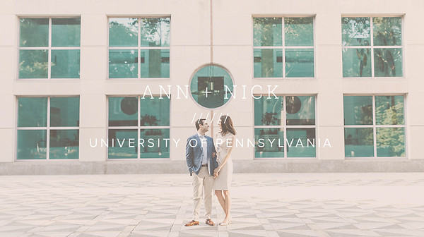 ANN + NICK ////// UNIVERSITY OF PENNSYLVANIA