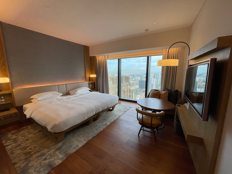 Andaz Singapore King Room Wide View