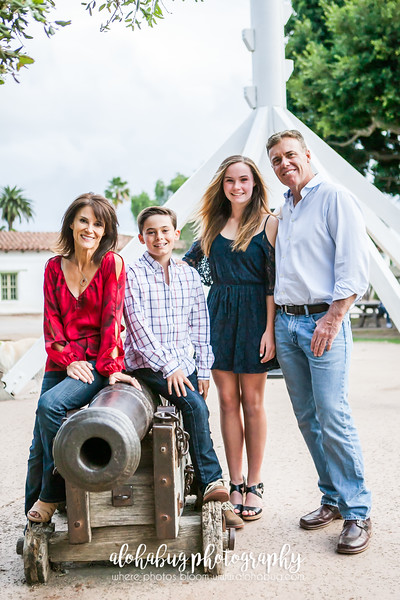 Andrea + Family // Old Town Family Photographer // San Diego Family Photographer
