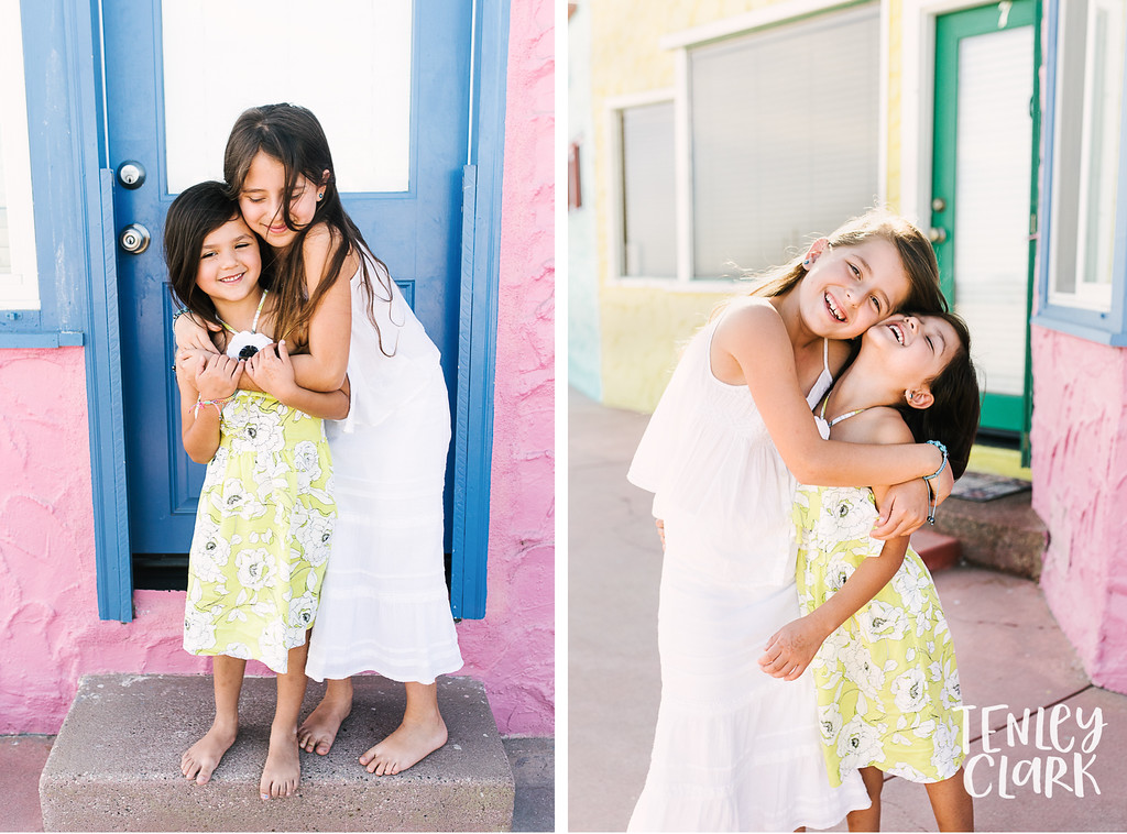 Colorful lifestyle family mini session at Capitola Beach by Tenley Clark Photography.