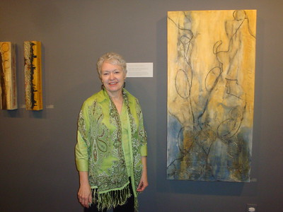 Michael Hamlin-Smith & Patricia Steele-Raible Exhibit Reception
