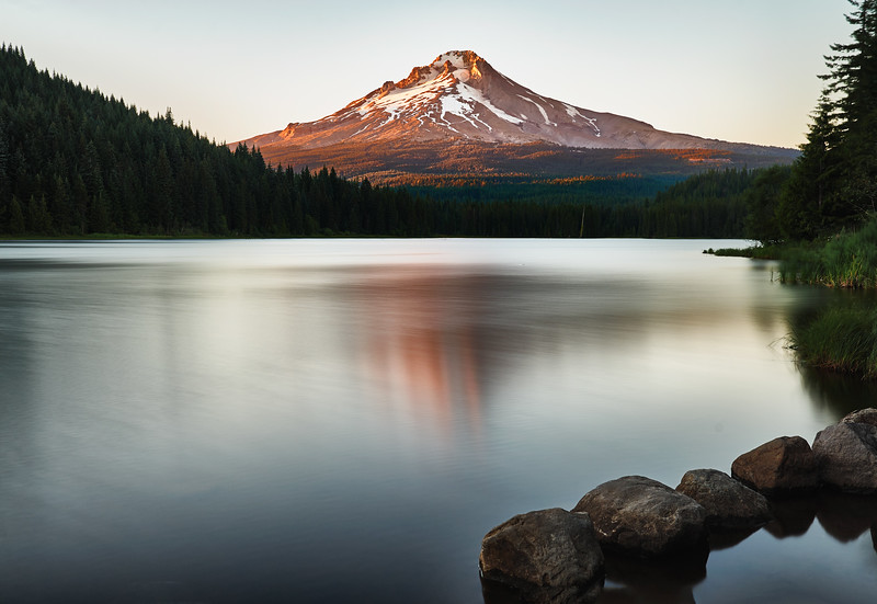 Trillium Lake, Five Rocks