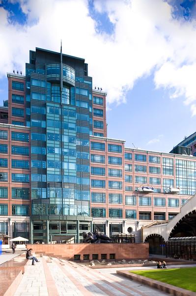 EBRD HQ on Exchange Square, The City, London, United Kingdom