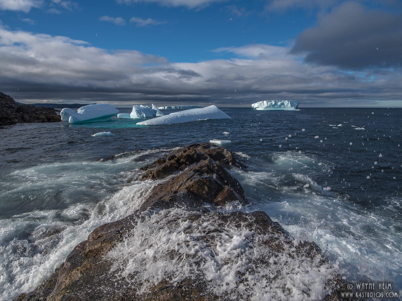 Icebergs 72a   Photography by Wayne Heim
