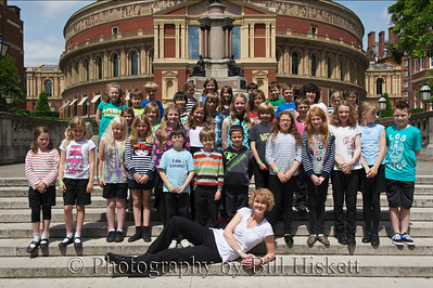 Barnardos Concert 29th June 2013 Royal Albert Hall, Group shots