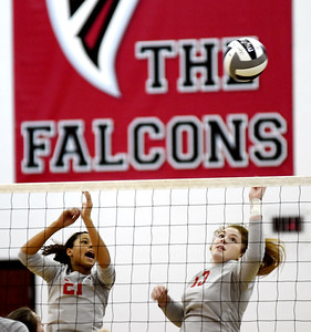 Geneva-Girard sectional division II volleyball October 19, 2019