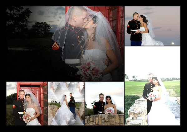Linda & Chris Hart Wedding Day Graphics
