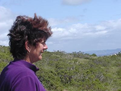 Hike with Joan 4-3-03