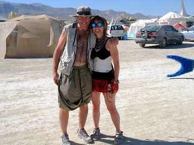 Burning Man 2004 Playa Girl