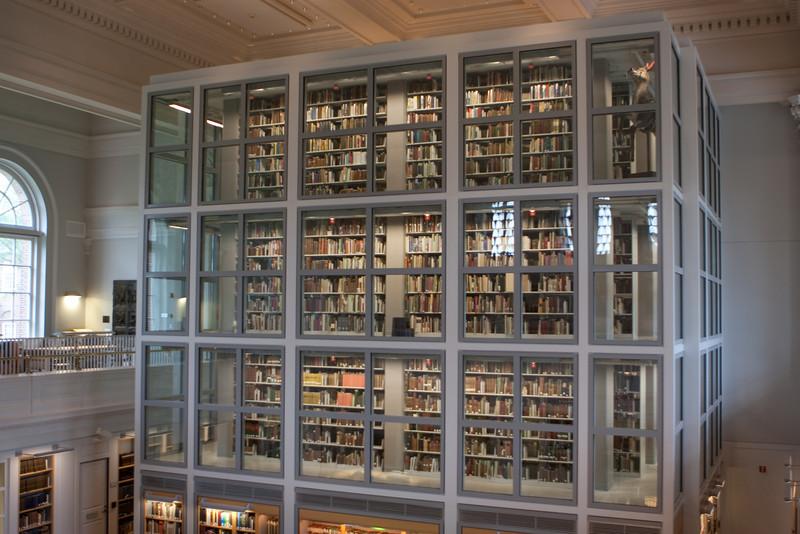 Day 5 - Raunerr Library stacks