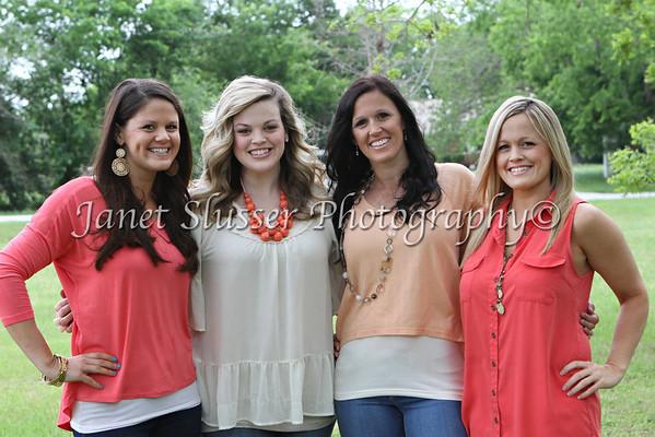 Ashley, Whitney, Kendra & Leasha 4-13-12