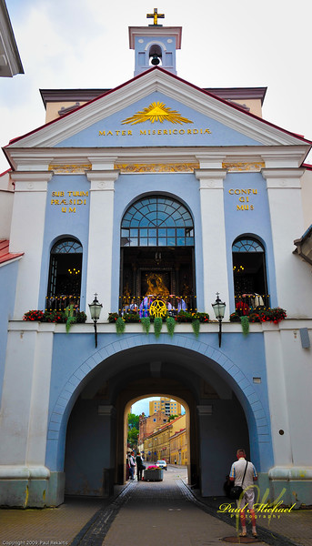 Ausros Vartai; the second most holy place in Europe!