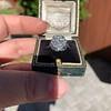 1.82ctw Diamond Cluster Ring 14