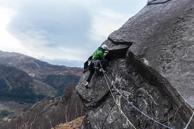 04 Glen Nevis rock climbing