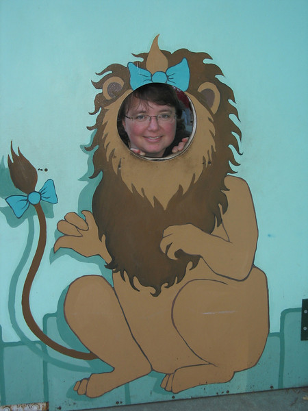 Mary explores her inner lion nature.