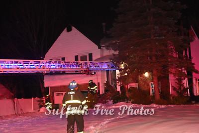 Dwelling Fire - Samantha Drive, Coram, NY -  2/13/21