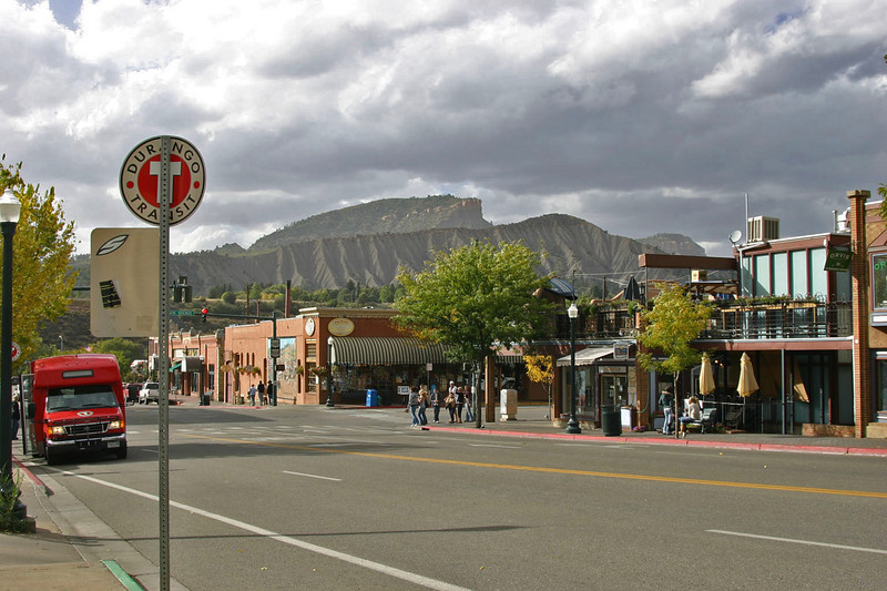 Durango, near the Abbey Theater where the show was that night.