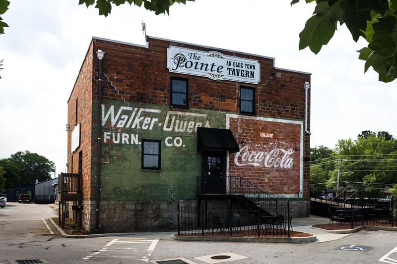 GA, Conyers - Coca-Cola Wall Sign