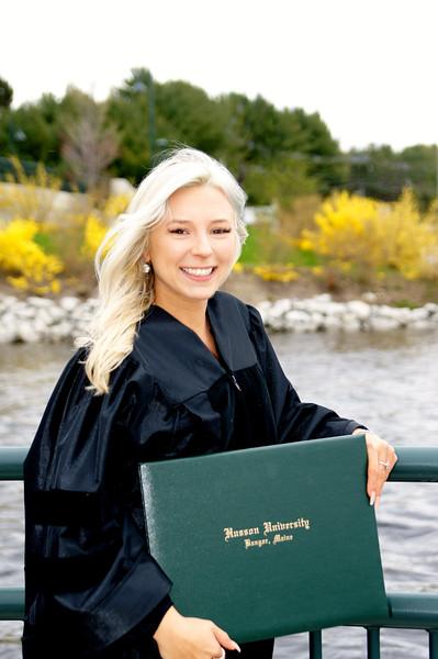 Anna Graduates Husson 2019