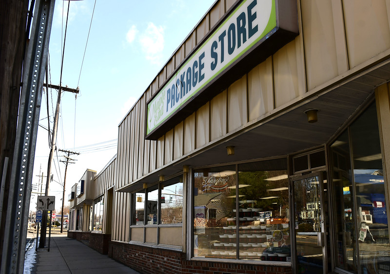 3/24/2020 Mike Orazzi | Staff The Maple End Package Store on Route 6 in Bristol.