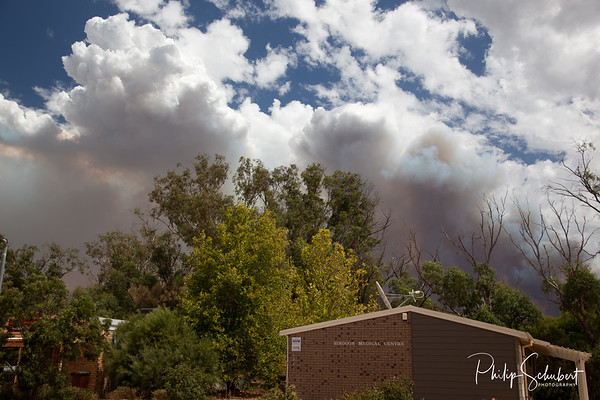 Bush Fire at Bindoon on the 21st May 2013
