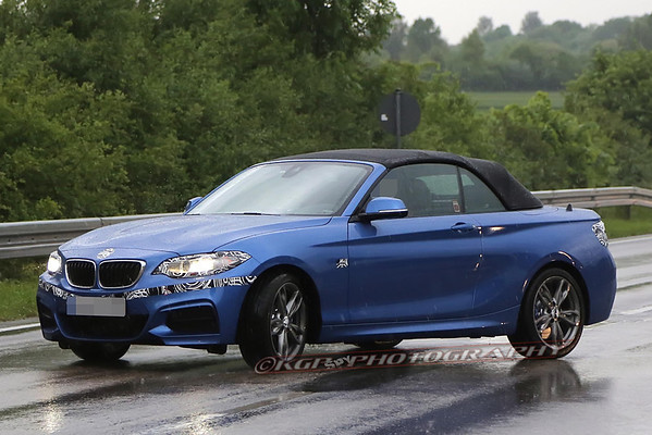BMW 2-series Cabrio Less-Disguised