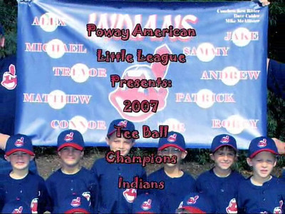 Indians T-Ball 2007 VIDEO