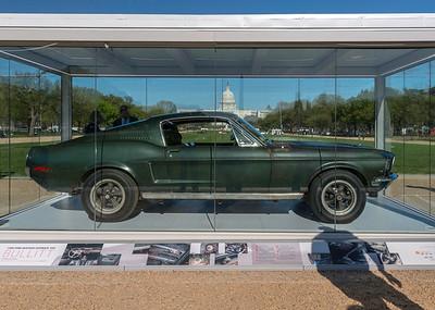 Steve McQueen's Bullitt Mustang