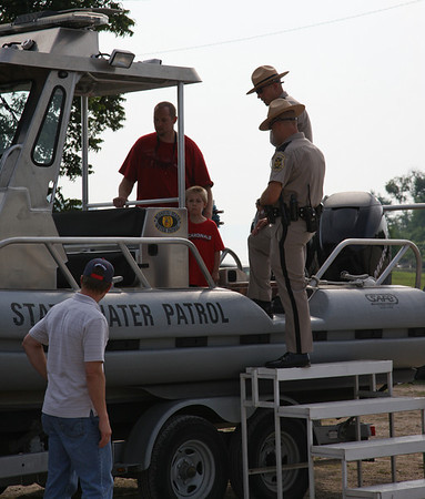 Pujols Family Foundation,  Water Safety & Ride Along Day with the Missouri State Water Patrol  08-15-2009