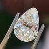 2.61ct Antique Pear Cut Diamond GIA I SI1 13