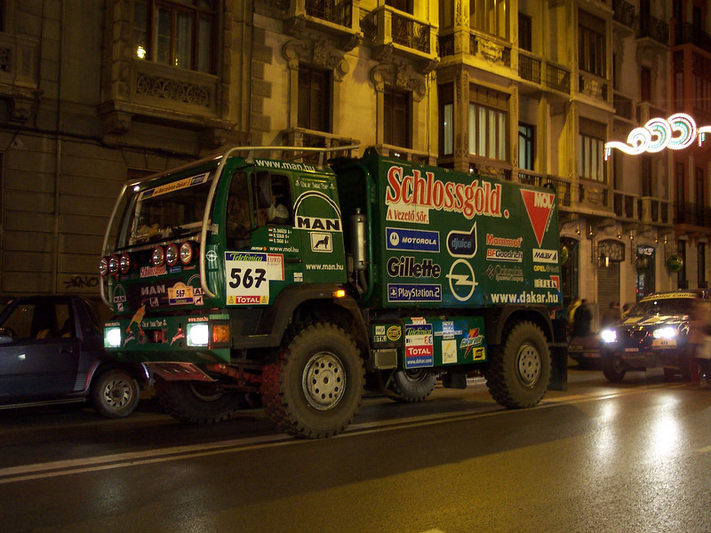 Granada. Dakar 2005