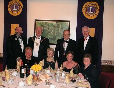 Lions Charter Dinner
