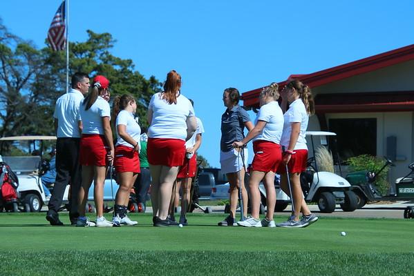 AVCTL League Girls Golf @ WGC  100819