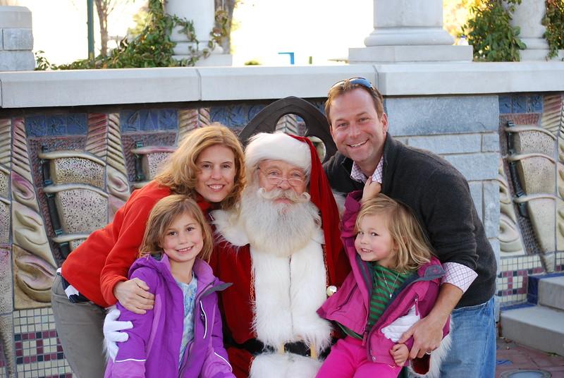 2012 JingleFest Portraits with Santa