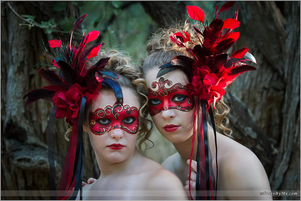 Venetian Mask - Photo Shoot