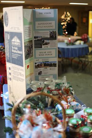Tatanka Wakpala Model Sustainable Community Booth at UPCOB Holiday Fair