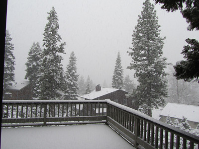 Snow at the Lake, May 28, 2011