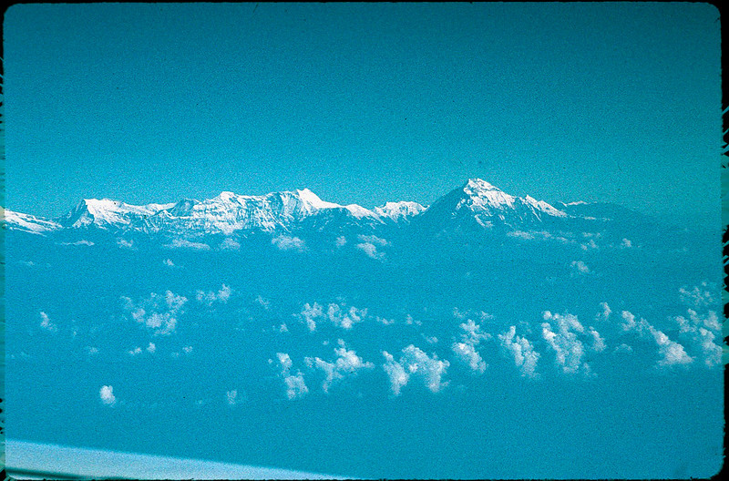 first view of Himalayas