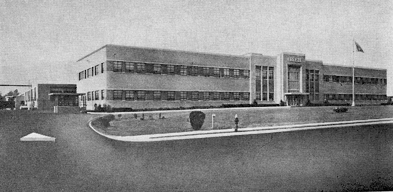 Breeze Eastern factory on Liberty Ave in 1948.