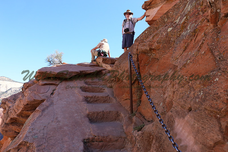 Gary & Ted reach the top of Angel's Landing trail.jpg