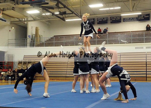 Cheer at LCC - Lakewood JV - Round 3 - Jan 25