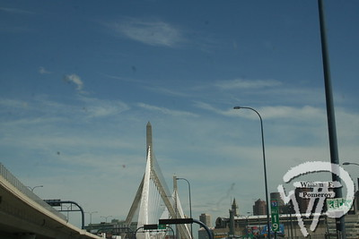 Leonard P. Zakim</br>Bunker Hill Bridge</br>I-93 SOUTH