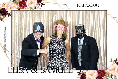 Elisa & Samuel's Wedding 10/17/2020