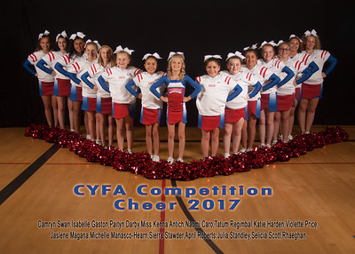 CYFA Cheer Competition 2017